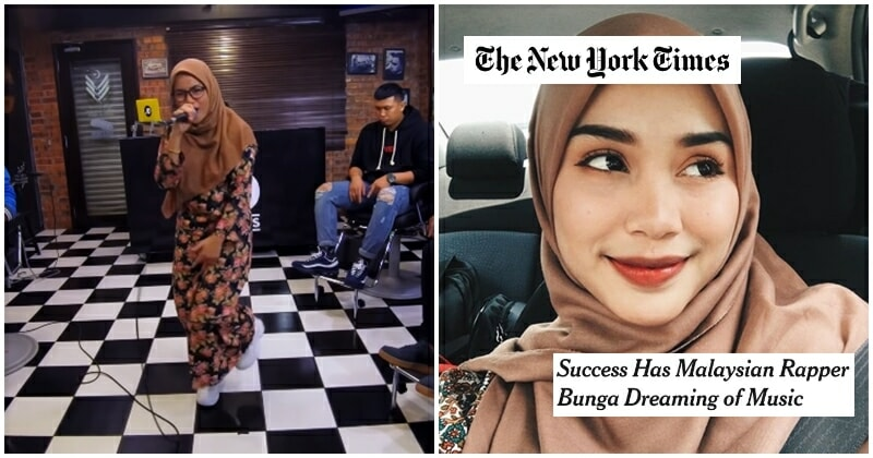 Perak Teen Rapper In Hijab and Baju Kurung Is So Good that the US Noticed Her! - WORLD OF BUZZ