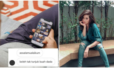 Pervert Asks M'sian Actress to Show 'Buah Dada', Becomes Viral for the Funniest Reason Instead - WORLD OF BUZZ