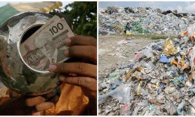 Penang Man Found Canadian Dollars In A Kettle At the Landfill - WORLD OF BUZZ