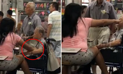 Woman Aggressively Pinches Breasts, Po & Shoves Finger in Old Lady's Mouth - WORLD OF BUZZ