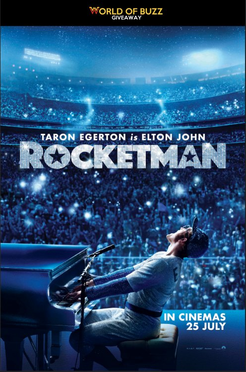 Rocketman Movie Preview Screening Giveaway - WORLD OF BUZZ