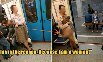 Woman Strips Off Underwear on Subway After Passenger Refuses to Give His Seat Up for Her - WORLD OF BUZZ