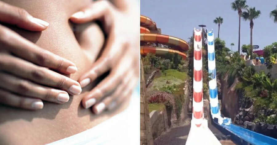 Water Slide So Steep That Water Was Forced Into Woman's Vagina - WORLD OF BUZZ