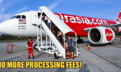 Starting October, AirAsia Announces That They Will Remove Processing Fees for Flight Tickets - WORLD OF BUZZ 2