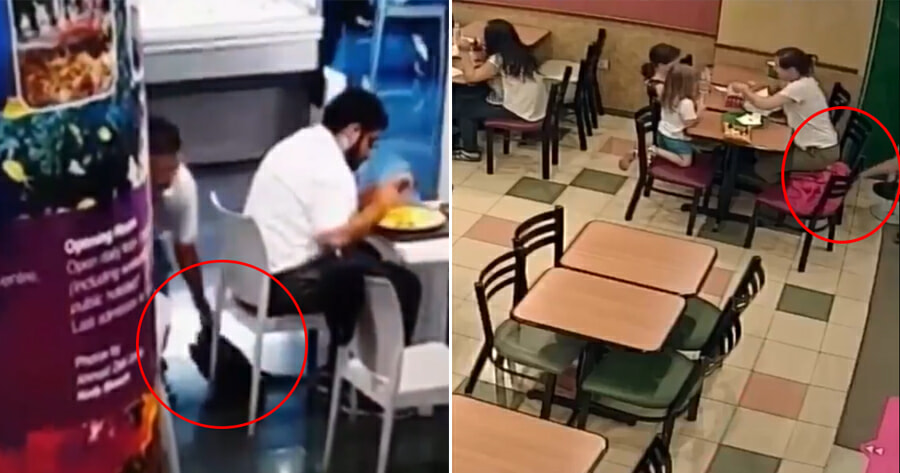 This Man in KL Has Been Stealing Strangers' Bags in Broad Daylight, M'sians Urged to Be Careful - WORLD OF BUZZ