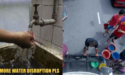 Syabas Cancels Next Week's Water Disruption... But Unsure When Water Will Be Restored After Cut - WORLD OF BUZZ