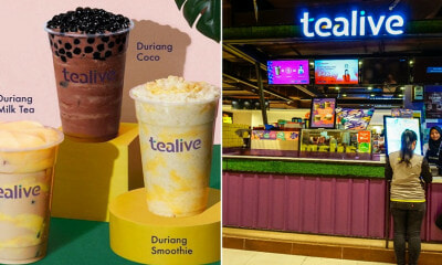 Tealive Just Revealed Its Durian Series With 3 Brand-New Drinks, Here's Where You Can Get Them - WORLD OF BUZZ 1