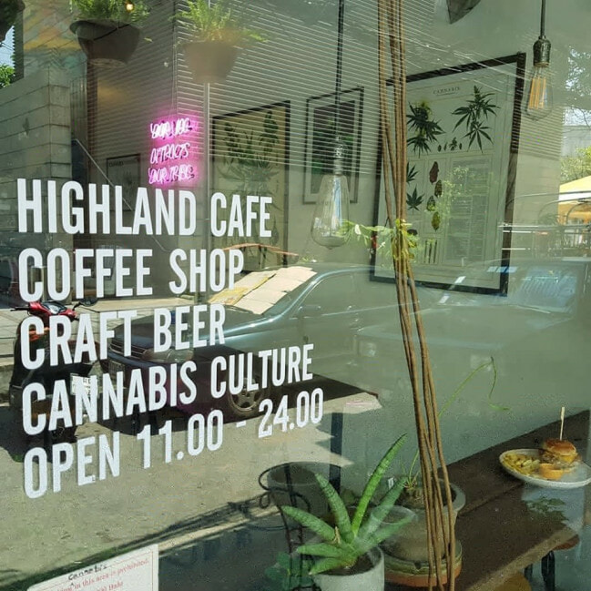 There's a Marijuana-Themed Cafe in Bangkok & It's The First In the Country! - WORLD OF BUZZ 2