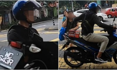 Thief Gets Caught On Camera, Vlogger Reveals Culprit's Face And Registration Number - WORLD OF BUZZ