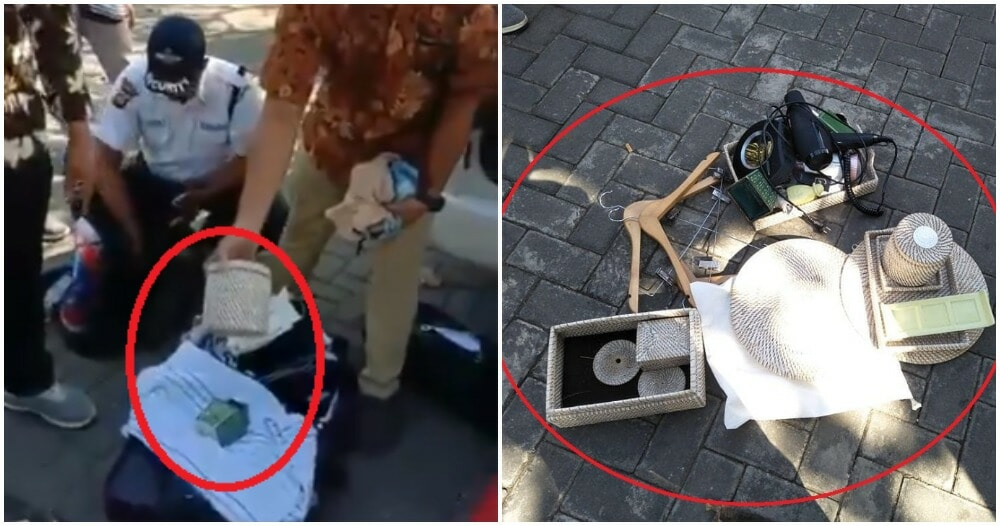 This Family Kantoi After Getting Caught Stealing Hotel Stuff From Bali Villa - World Of Buzz 1