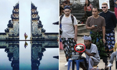 This Famous Insta-Worthy Spot in Bali is Actually Just A Visual Camera Trick Using A Piece Of Glass! - WORLD OF BUZZ