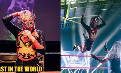 This is Phoenix: The World's First Hijabi Pro Wrestler From Malaysia - WORLD OF BUZZ 1