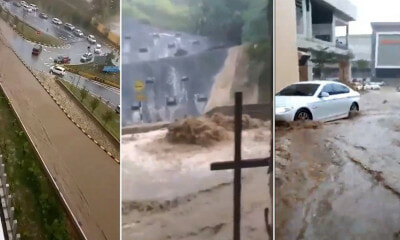 Videos Show Heavy Floods at Genting Premium Outlet & Awana Skyway - WORLD OF BUZZ