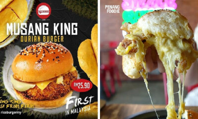 Viral Musang King Durian Burger in Penang? Have We Gone Too Far? - WORLD OF BUZZ 5