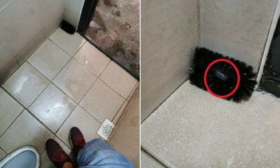 Viral Post Shows Hidden Pinhole Camera Found in Toilet of Tealive Outlet in Muar, Shocks Netizens - WORLD OF BUZZ 3