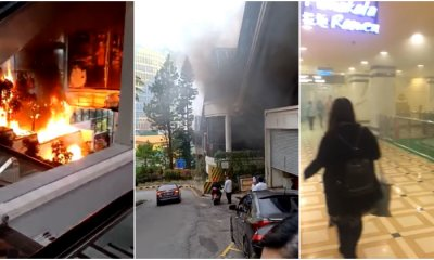 Viral Videos Show Fire Breaking Out In Genting And Visitors Being Forced To Evacuate Building - World Of Buzz
