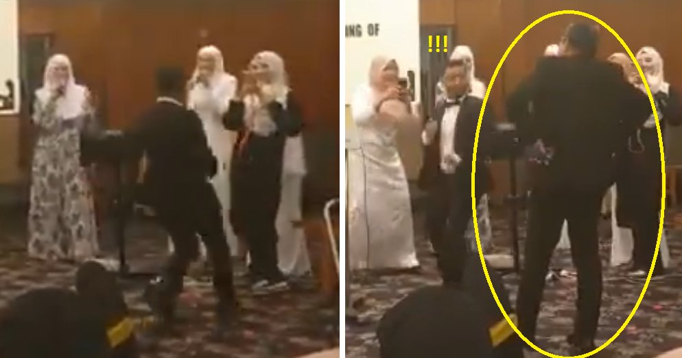 Watch: Cute Video Shows Young Man Trying to Dance with Aunty but Gets Kicked Out by Uncle - WORLD OF BUZZ 3