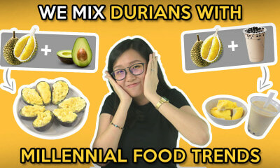 We Mix Durians With Millennial Food Trends - WORLD OF BUZZ