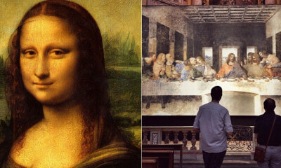 You Can See Leonardo da Vinci's Mona Lisa & 16 Other Of His Paintings in KL, Starting 15 July - WORLD OF BUZZ