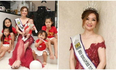 44-Year-Old Grandmother of 5 Wins First Runner-Up Mrs Singapore Title - WORLD OF BUZZ 5