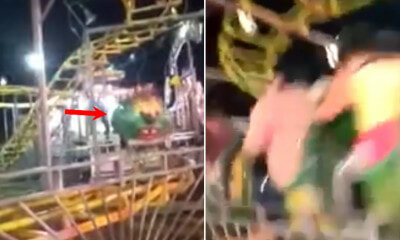 [Video] Children's Ride at Theme Park Derailed O - WORLD OF BUZZ