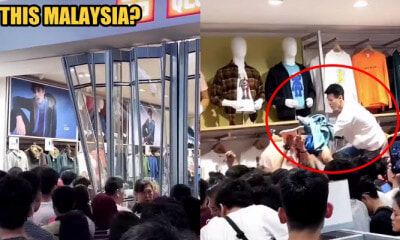 M'sians Rip a UNIQLO Outlet Apart Just to Get The KAWS:Summer Collection T-Shirts - WORLD OF BUZZ