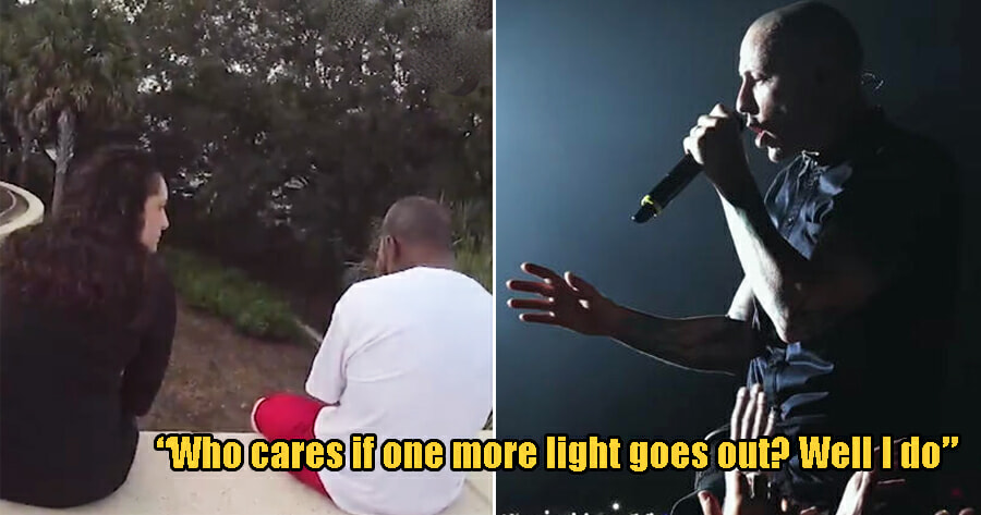Woman Stops Man From Committing Suicide By Reciting Linkin Park's Lyrics to Him - WORLD OF BUZZ