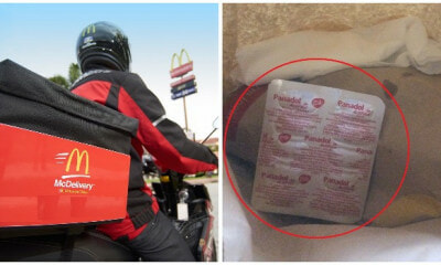 Abang McDelivery in Kelantan Goes Above and Beyond His Job To Fulfill Customer's Request By Buying Panadol - WORLD OF BUZZ