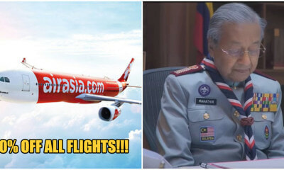 AirAsia Celebrates Merdeka With 20% Offer on Flights & A Touching Video Narrated By Tun M & A Samad Said - WORLD OF BUZZ 2