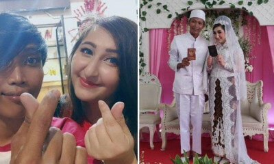 Austrian Girl Travels Over 13,000km to Marry Indonesian Cleaner She Met on Singing App - WORLD OF BUZZ