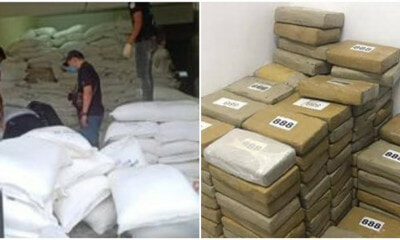 Biggest Drug Bust in Malaysian History! RM676mil of Cocaine & Ketamine Seized by Police & Customs - WORLD OF BUZZ 2