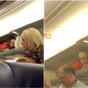 Cabin Crew Pulls A Prank On Passengers By Hiding Inside Overhead Luggage Bin - WORLD OF BUZZ 1