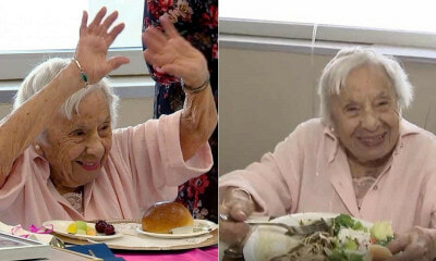 Lady Who Turned 107 Years Old Said That Her Secret To Long Life Is Never Getting Married - WORLD OF BUZZ