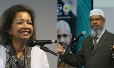 Netizens Ask Marina To Tell Her Dad To Deport Zakir Naik As She Speaks Out Against Him - WORLD OF BUZZ