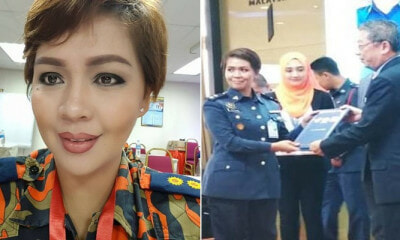 37yo Lady Breaks Record By Becoming The First Woman Chief in Sabah Fire Station - WORLD OF BUZZ