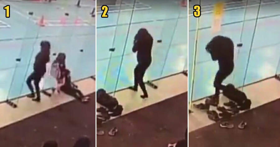 [Watch] Woman Hilariously Bumps Into Glass 3 Times In A Row & We're Embarrassed For Her - World Of Buzz