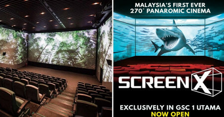 GSC 1Utama Just Launched First Panoramic Cinema in Malaysia & It's Now Showing These Reruns! - WORLD OF BUZZ 2