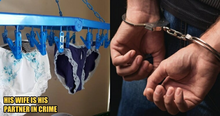 Johor Cop Caught Breaking into Colleague's Home to Steal Bras, Panties, and Sandals - WORLD OF BUZZ