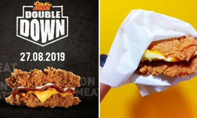 KFC Malaysia is Bringing Back The Zinger Double Down Starting 27 August For a Limited Time Only! - WORLD OF BUZZ 3