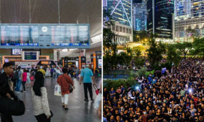 Major Airlines in Malaysia Have Cancelled & Rescheduled Hong Kong Flights Due to Ongoing Protests - WORLD OF BUZZ 1