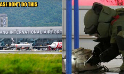 Man Makes False Bomb Threat at Penang International Airport Just to Delay His GF's Flight - WORLD OF BUZZ