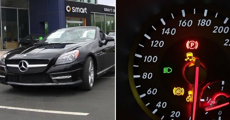 Man's Mercedes-Benz Has Many Problems After He Loaned It To His Friend to Impress Girls - WORLD OF BUZZ
