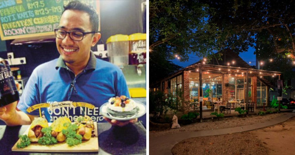 Meet Mohamad Shafiq, Who Went From Selling Hotdogs Under a Staircase To Owning 3 Cafes - WORLD OF BUZZ 1