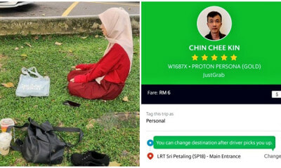M'sian Chinese Grab Driver Has No Problem Waiting For Muslim Girls Who Drop Everything To Make It In Time For Their Daily Prayers - WORLD OF BUZZ 5