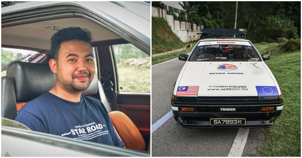 M'sian Man Drives 32,000KM to Germany So He Can Marry The Love of His Life - WORLD OF BUZZ 5