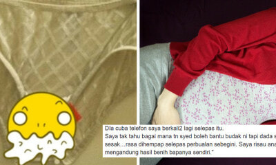 M'sian Pakcik Who Masturbates Into 14yo Daughter's Panties Worried Semen Will Impregnate Her - WORLD OF BUZZ