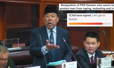 Nearly 15,000 People Have Demanded Sexist PKR Senator To Resign - WORLD OF BUZZ 1