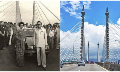 Nostalgic Images Of Penang Bridge Inauguration Captures Netizens Attention As The Landmark Celebrates Its 34th Anniversary - WORLD OF BUZZ