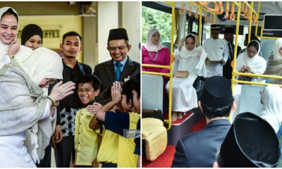 Our Permaisuri Agong Is So Humble That She Actually Went on a Campus Tour... IN A BUS! - WORLD OF BUZZ 4