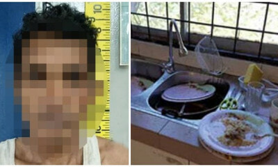 abah Man Slashed Housemate With A Parang After Cannot Tahan Being Scolded For Not Doing the Dishes - WORLD OF BUZZ